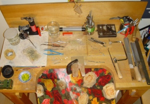 My workbench and tools