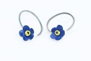 forget me not earrings by Elizabeth Anne Norris