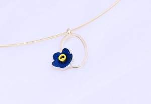 forget me not necklace by Elizabeth Anne Norris