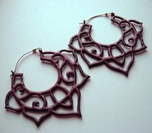 Gracebourne enamelled earrings