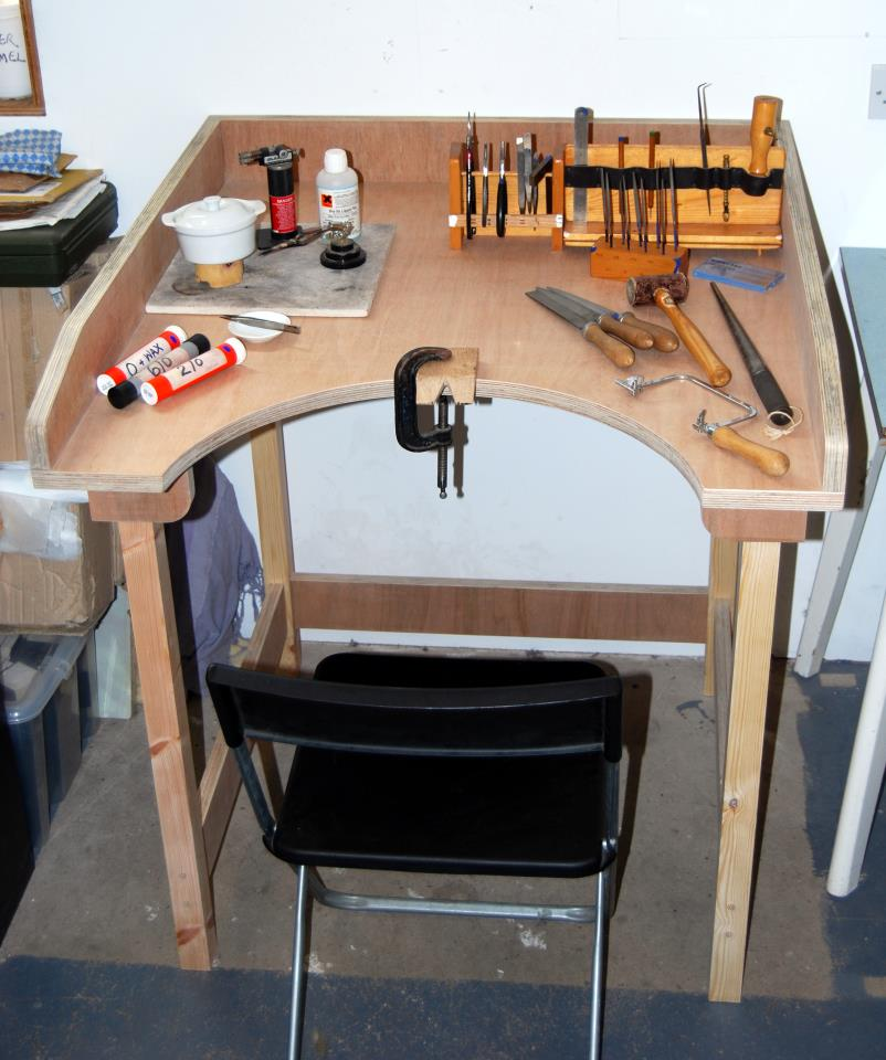 plan own jewelers bench