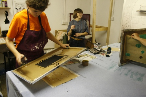 Screenprinting workshop