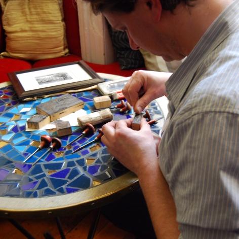 Keith Pettit Wood Engraving
