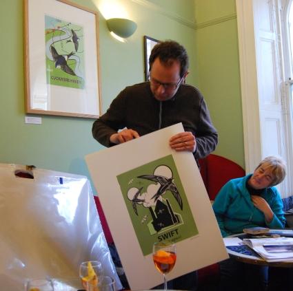 Mark Greco's Bird Prints