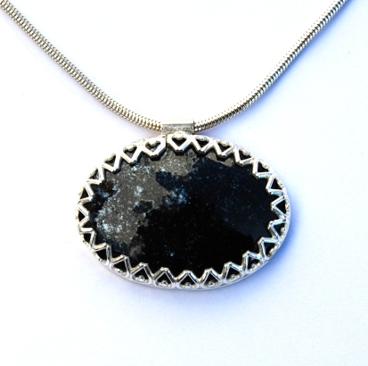 The Sky at Night Pendant by Elizabeth Anne Norris