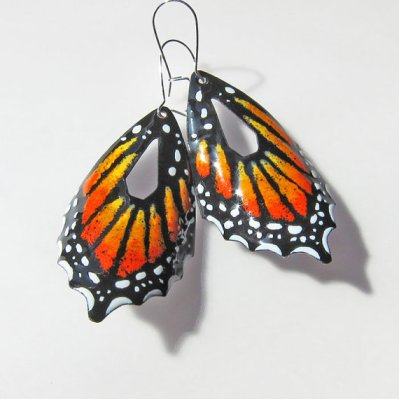Patsy Oxley Butterfly earrings