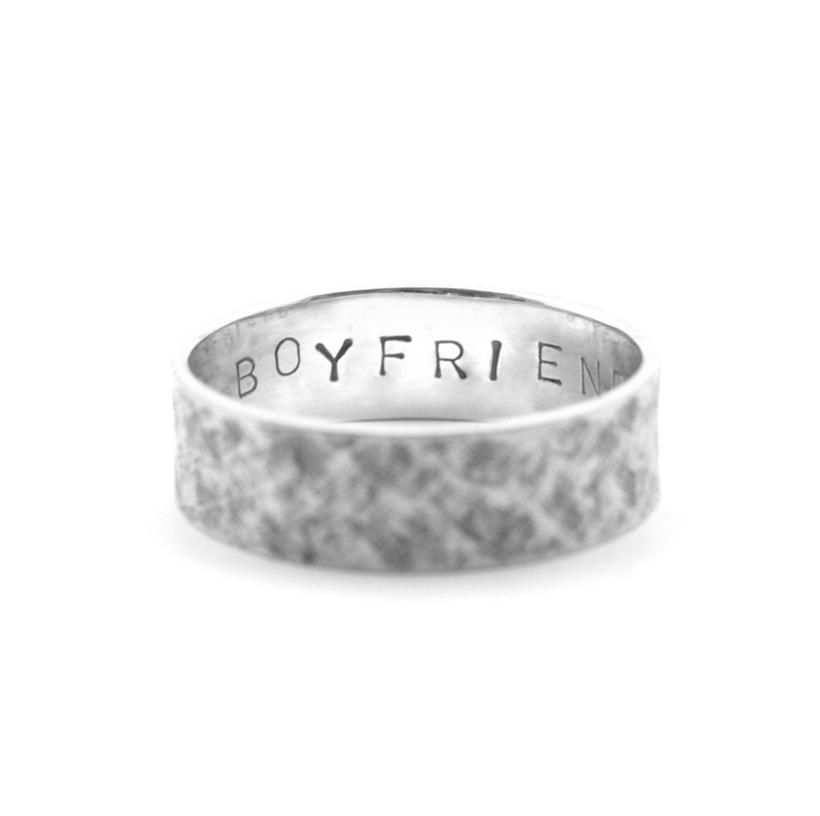 Personalised Ring Stampings
