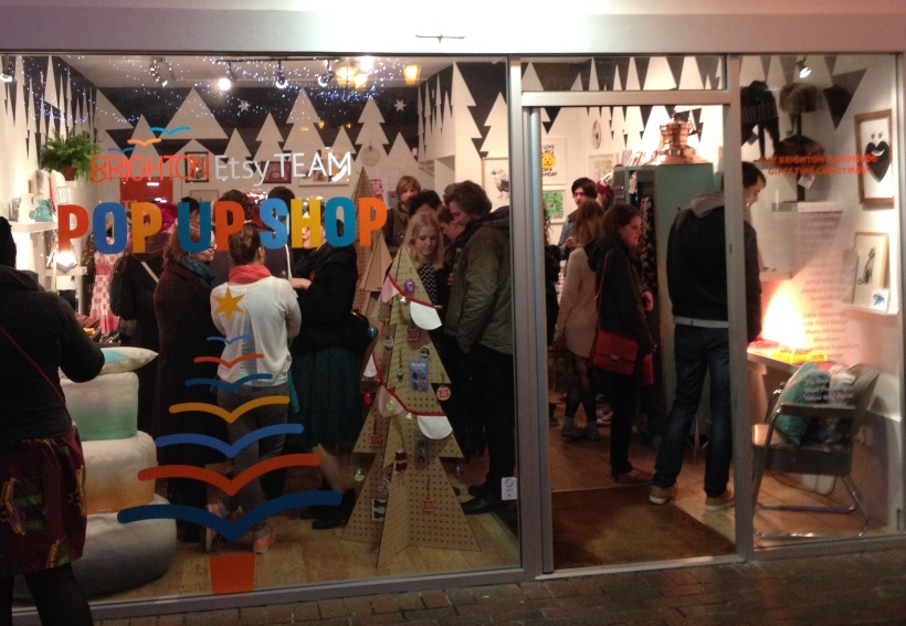 Brighton Etsy Pop Up Shop.54