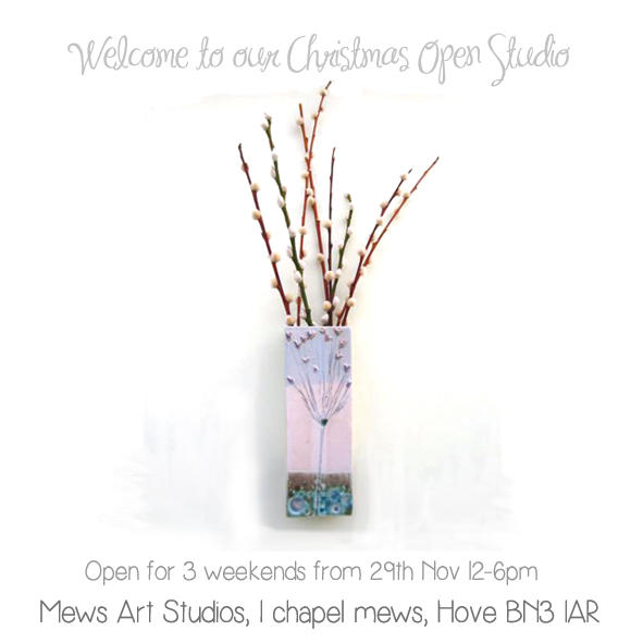 Mews Art Studios Christmas 2014 Flyer