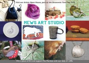 Mews Art Studio Flyer 2015 Front